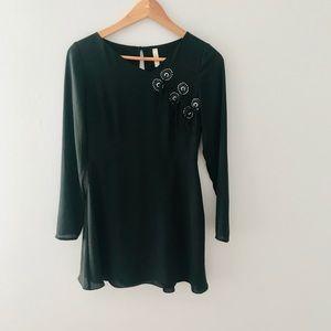 ❤️ Free People Black Mini Dress